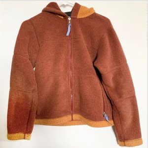 Patagonia Rusty Brown Synchilla ZIP Up Hoodie
